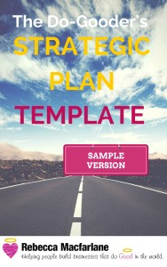 Strategic Plan Template - Sample Version